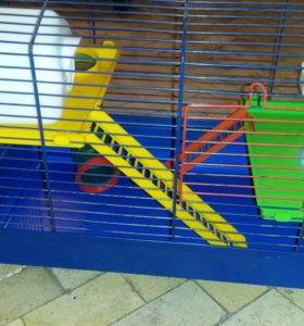 Клетка для хомячков и крыс.