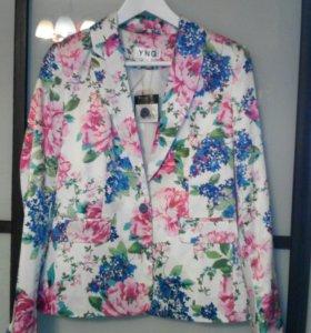 Новый женский пиджак на лето. Р. 44-46.