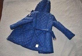 Куртка для девочки демисезонная р-р 116
