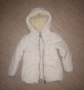 Пальто-куртка для девочки
