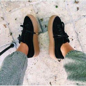 Кроссовки: Puma By Rihanna Creeper Black
