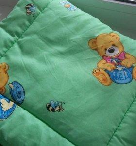Бортики и балдахин в кроватку для вашего малыша