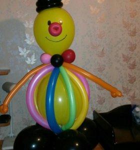 Фигурки, цветы, букеты из шаров