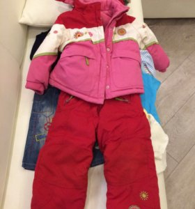 Зимний костюм для девочки 3-5 лет