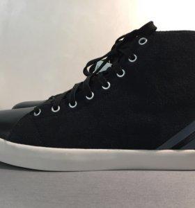 Новые кожаные кроссовки Adidas Neo,р. 40.5