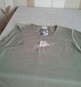 Новая футболка р.50 52