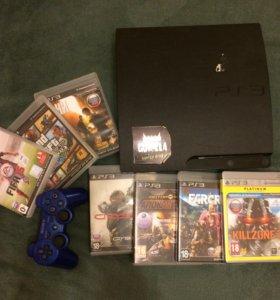 Продам PS3 с играми
