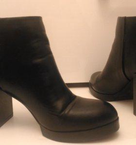 Обувь ботильоны полусапожки