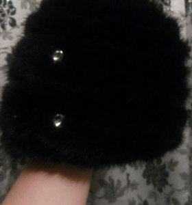 Ботиночки,шапка(стриженная норка)