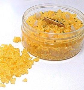 Морская соль с ароматом апельсина