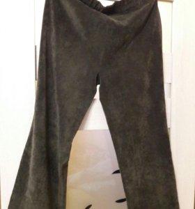 Вельветовые брюки, размер 52