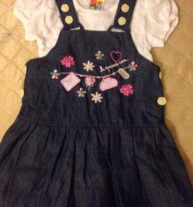 Юбочки и платья для девочки