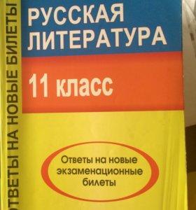 Русская литература 11 класс