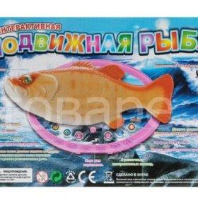 Игрушка интерактивная подвижная рыба
