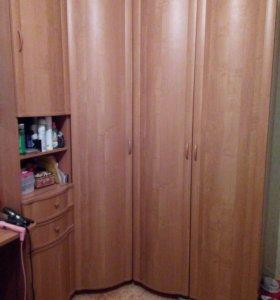 Детская комната, шкаф, мебель, кровать, стол