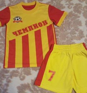 Футбольная форма для мальчика 92-98 см