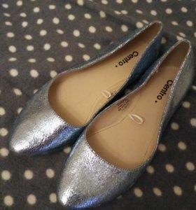 Новые туфли балетки.