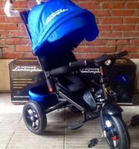 Детский трёх колесный велосипед Lambordhini l4