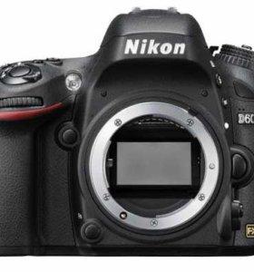 Полнокадровая камера Nikon D600 body