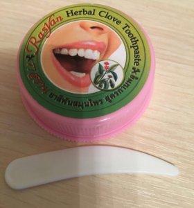 Отбеливающая зубная паста, дезодорант - кристалл