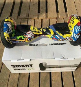 Street graffity hoverboard App+самобаланс 10,5""