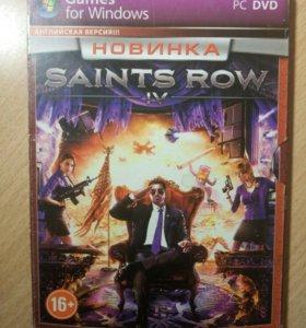 Диск с игрой Saints Row 4 для ПК