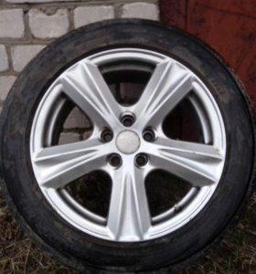 Литые диски,колёса R16
