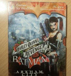 Диск с игрой Batman: Arkham City для Пк
