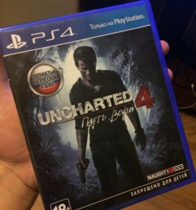 Uncharted 4 (ps4).