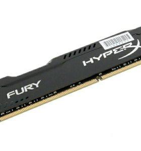Оперативная память Kingston HyperX Fury DDR3 8GB