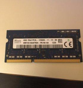 Модули памяти 4гб