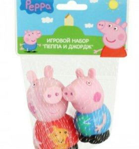 """Игрушки для купания """"Свинка Пеппа и Джордж"""""""