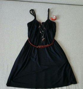 Сарафан, маленькое черное платье, р-р S
