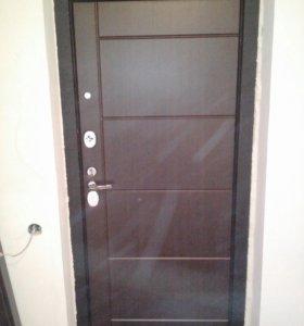 Ремонт входных дверей.