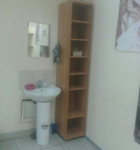 Мебель: тумба, шкаф, полочки, столик журнальный