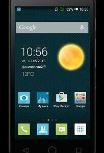 Смартфон Alcatel One Touch PIXI 3 4027D
