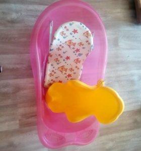 Ванночка детская с двумя горками