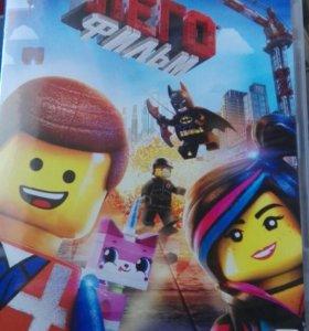 Диск с мультфильмом Лего фильм. Бетмен. Недорого