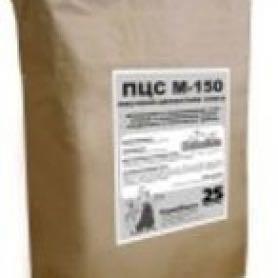 Смесь песчано-цементная M-150 25 кг