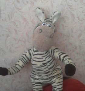 Игрушка зебра.