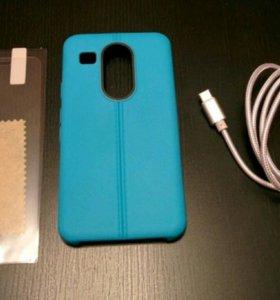 Nexus 5X чехол пленка кабель