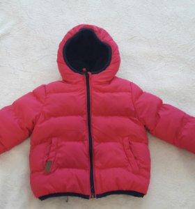 Куртка зимняя 92 р-р