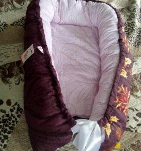 Гнездо (кокон) большой для новорожденного (новое)