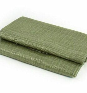 Мешок полипропиленовый зеленый 50*95