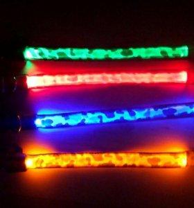 Светящиеся ошейники (led)