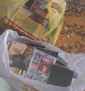 Продам диски с музыкой и фильмами