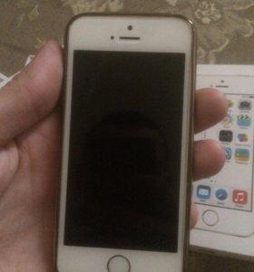 iPhone 5s 16 gb gold ru