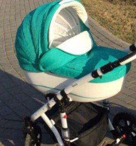 Коляска bebe mobil Toskana ecoкожа