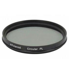 Поляризационный фильтр polaroid cpl 82 mm