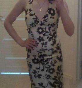Шёлковое лёгкое платье